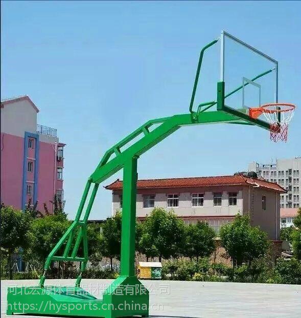 宏源凹箱式仿液压篮球架厂家直销批发供应