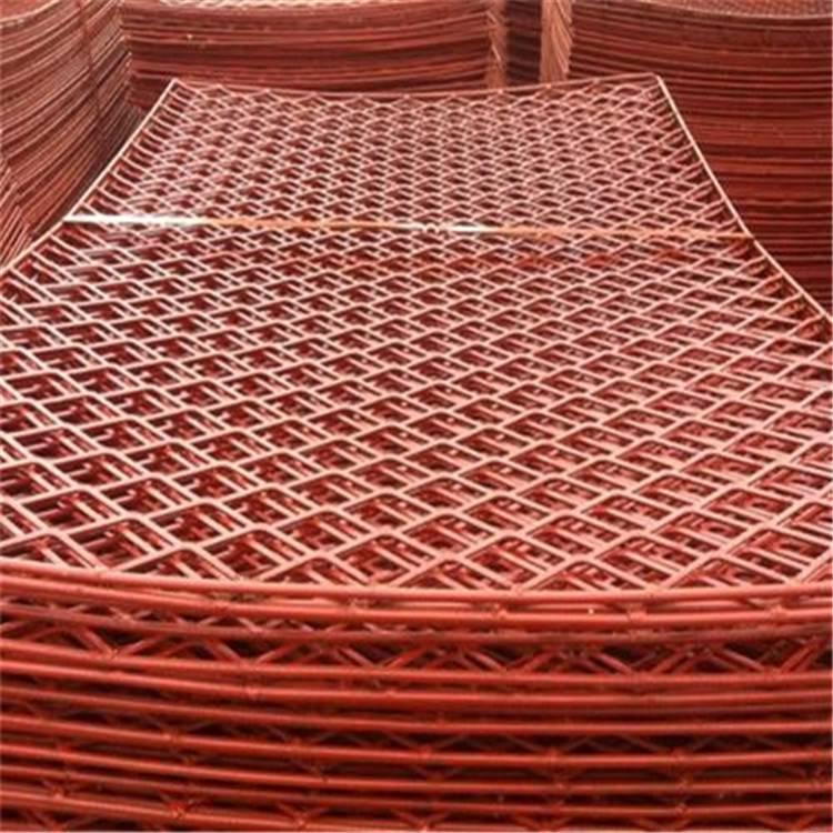 杭州建筑脚手架网片实体厂家——新型建筑安全网&承重力强喷漆钢笆片样品免寄