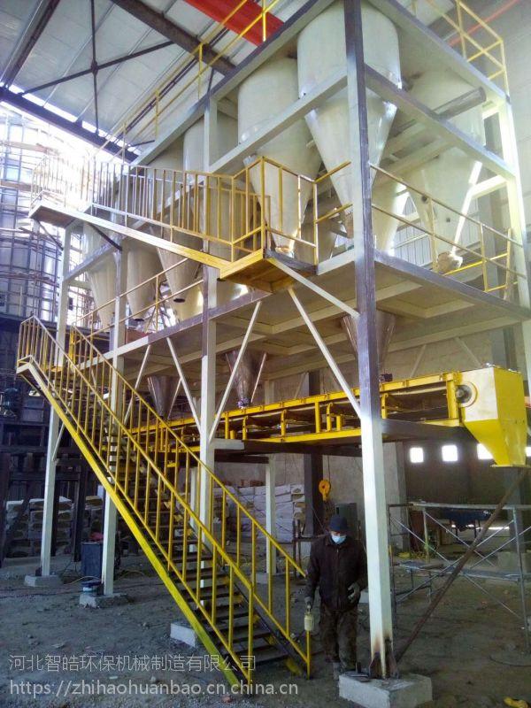 智皓ZH-JZ型钢铁保护渣中央供料系统,创建绿色生活