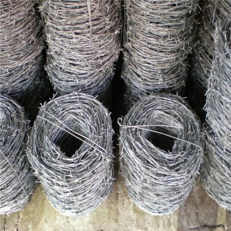 双股刺绳生产 刺绳护栏网报价 螺旋刀片刺网