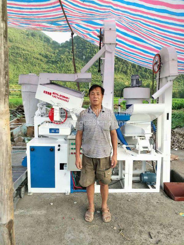 NZJ15/15新型碾米机出米率高碎米少米色光洁晶亮