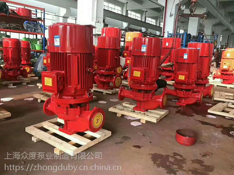 消防泵修理 XBD8.0/15-HY 22KW 消防泵22KW 不阻塞