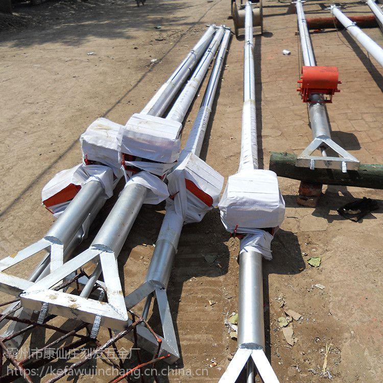 厂家直销【刻发】加固型手摇立杆机8~18米 铝合金三角架起杆机 人字抱杆扒杆