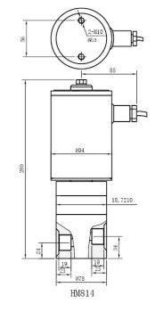 zcg 不锈钢超高温高压电磁阀,电磁阀制造商,金口阀门图片