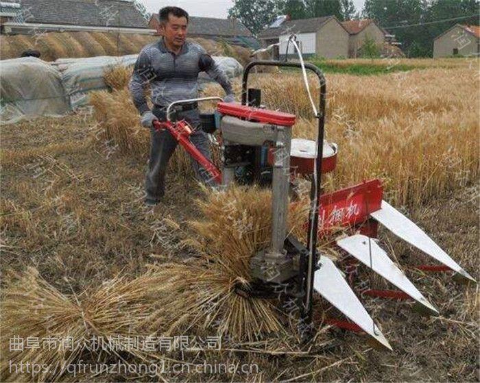 新型割晒机割台 稻麦微型割晒机 优质耐用高效率