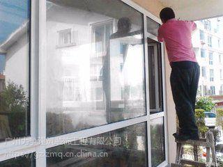 广州力争装饰公司专做更换玻璃、换胶补漏、固定改窗等幕墙维修工程