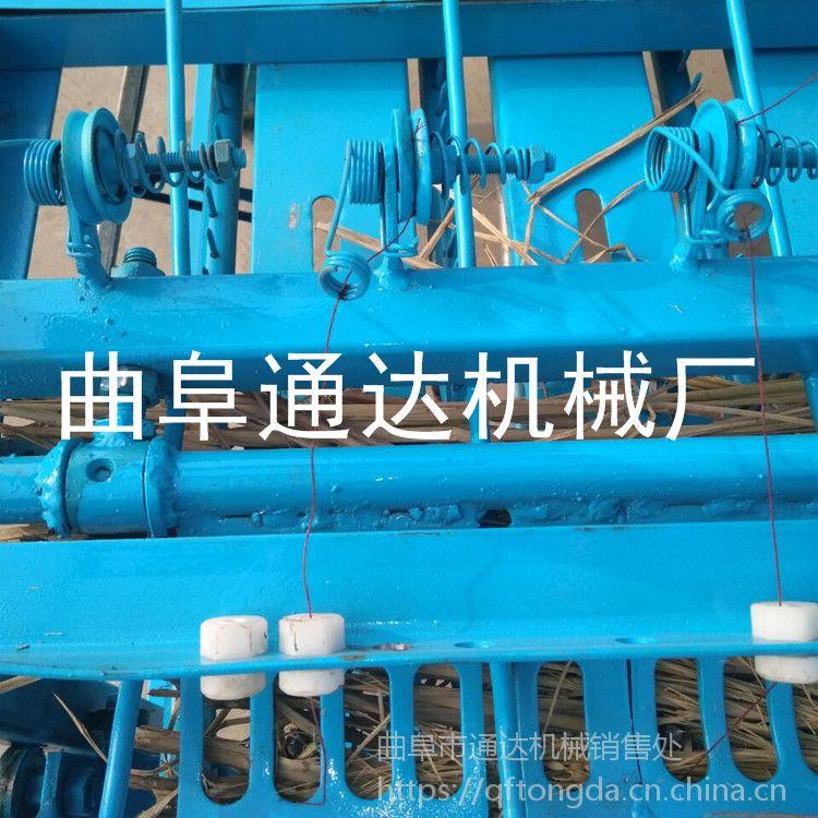 泰安 订购多功能电动草帘机 生产各种型号草帘机 通达 稻草编制机