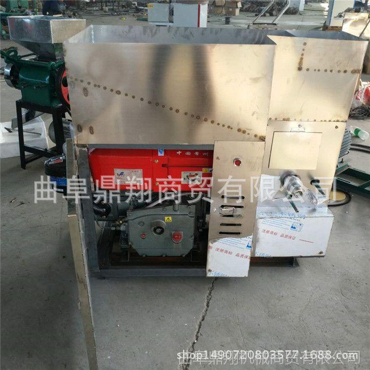 暗仓新型杂粮膨化机 汽油机带动食品膨化机 自动切断弯管型膨化机