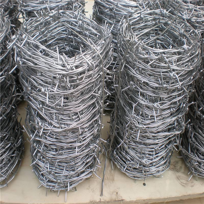 围墙刺绳用途 螺旋式刀片刺绳 铁丝刺网