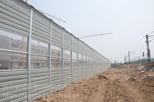 施工工地声屏障安装
