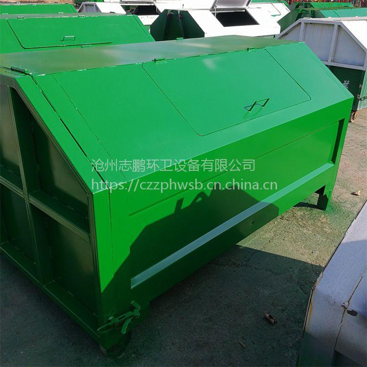 铁制垃圾桶 铁质垃圾桶 环卫大铁桶生产厂家