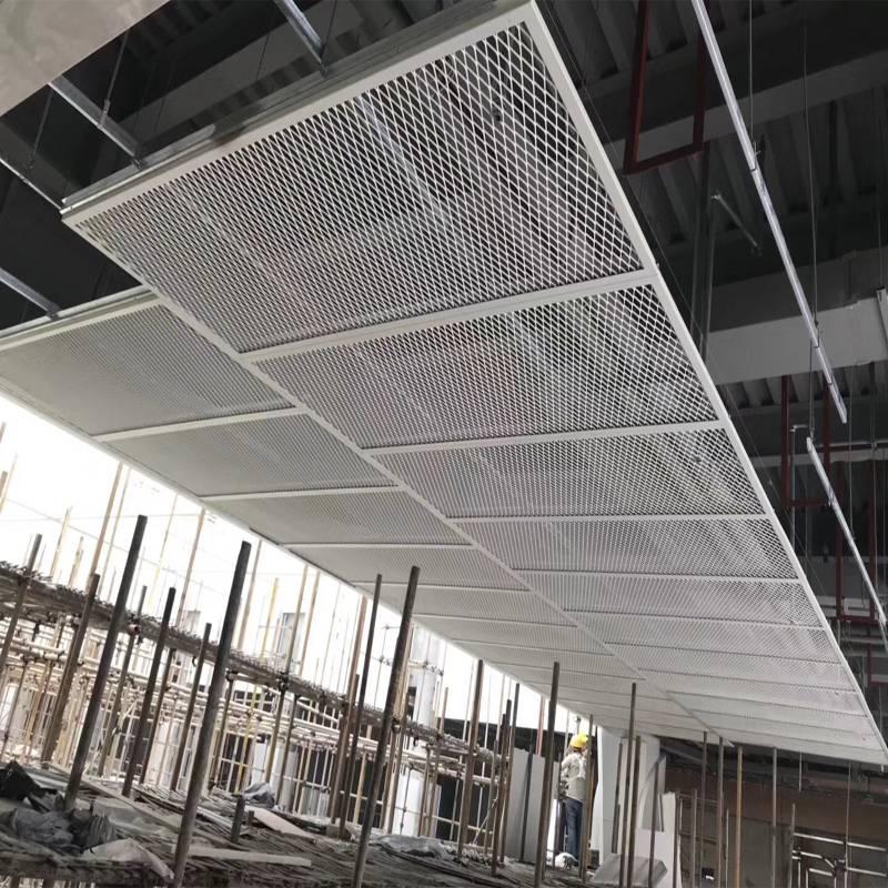室内装修材料拉伸网吊顶材料怎么样计算 佛山欧百建材