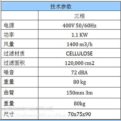 少量粉尘颗粒适用工业吸尘器AIR WELD固定式工业除尘设备白色意柯西/DEPURECO品牌