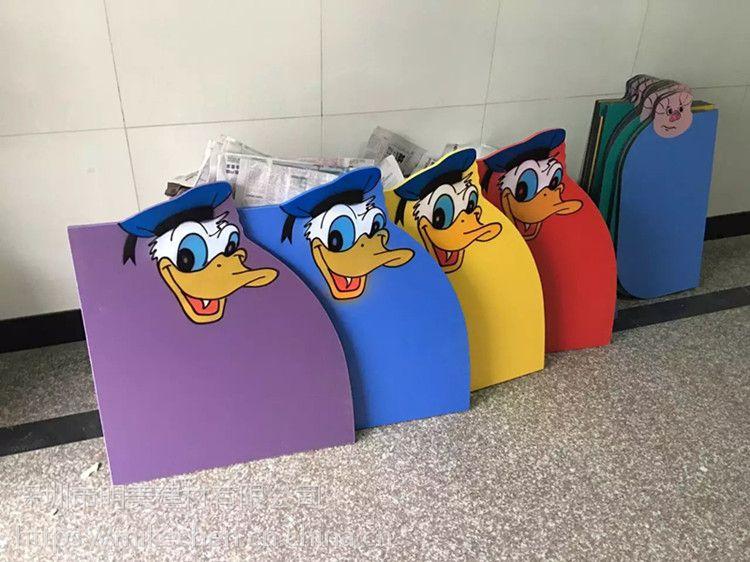 开封铭嘉幼儿园厕所挡板卫生间隔断儿童小便池卡通隔板学校大便小便防水板