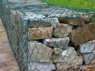 将砌石挡墙护岸格宾石笼网 河道扩宽铅丝石笼