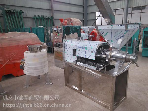核桃榨油机 全自动多功能核桃仁榨油机 核桃油压油机 大型商用