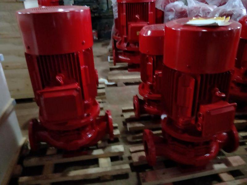 北京多级消防泵XBD10.6/40G-L厂家直销(带3CF认证)AB签。