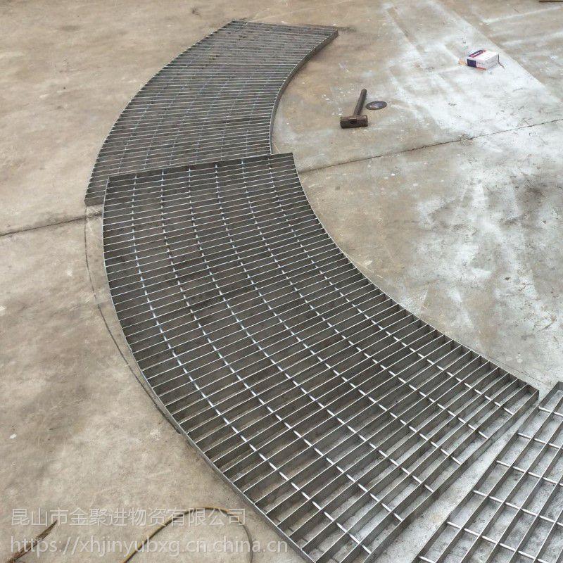 昆山金聚进排水沟不锈钢格栅加工定制厂家价格