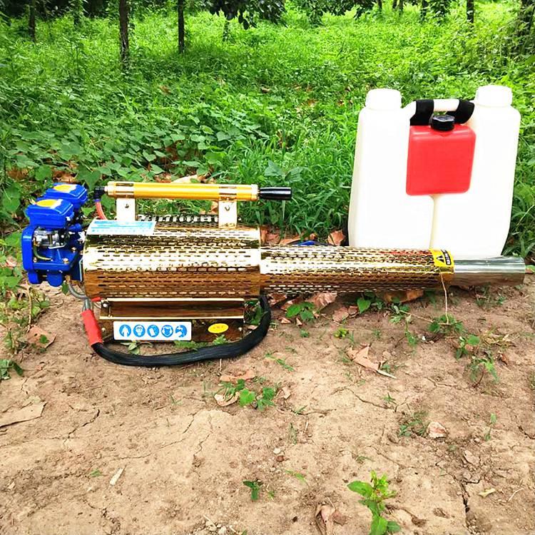 背负式脉冲弥雾机大功率农用汽油打药机 烟雾水雾两用机 乐丰牌