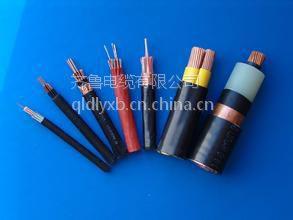 供应齐鲁牌裸铜线交联绝缘PVC护套铠装光缆MYJVB级 1*1.5