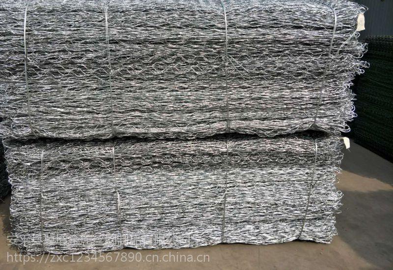 厂家直销江河堤坝防护石笼网、镀锌防腐石笼网