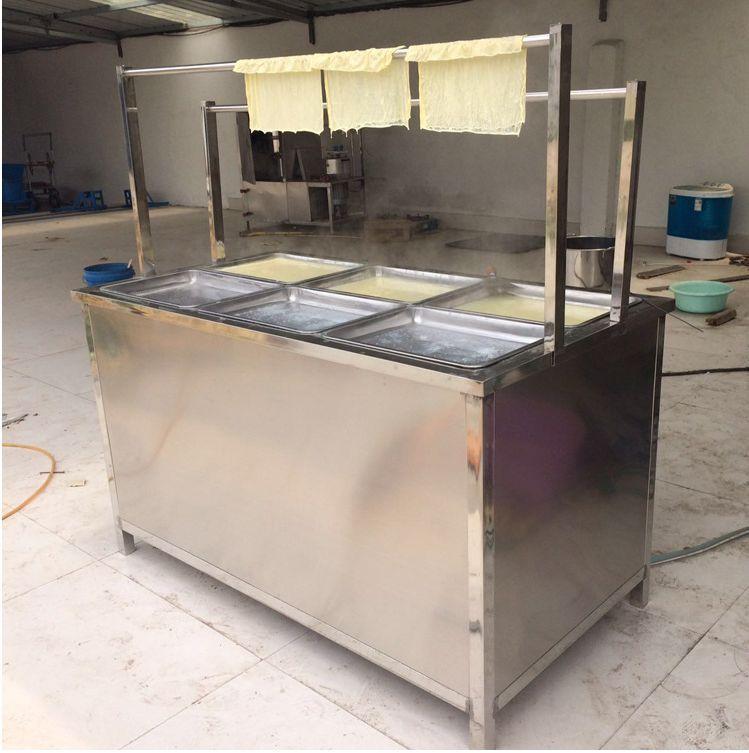 金盛达直销自动豆油皮机视频腐竹机设备哪里有卖的技术免费培训