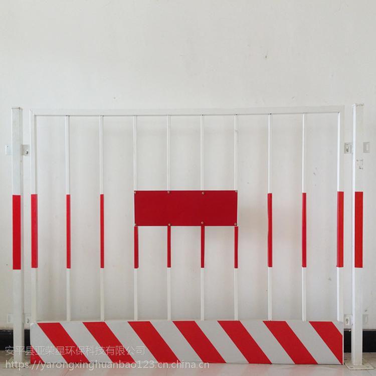 湖南基坑防护网、方管1.2*2米基坑安全支护护栏、工地临时隔离网