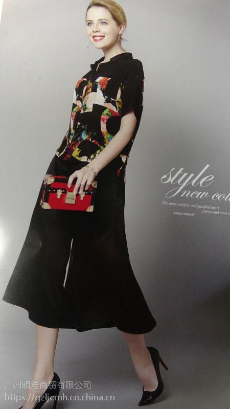 上海草叶集品牌折扣女装批发货源在哪