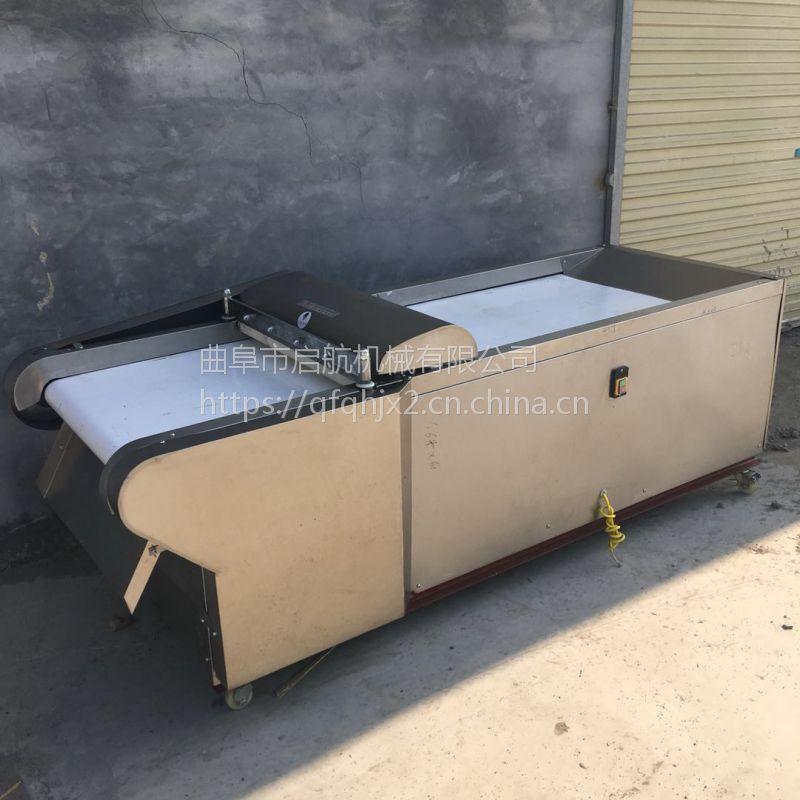 毛竹笋切段机 启航牌不锈钢型胡萝卜切片机 餐厅用蔬菜切丝机