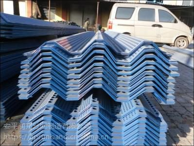 防风抑尘网声屏障挡风板圆孔厂家直销