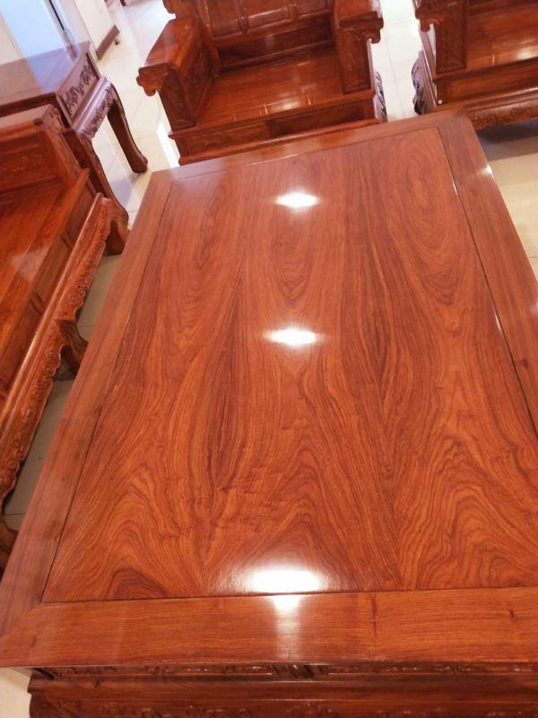 全冈比亚刺猬紫檀象头沙发六件价格名琢世家