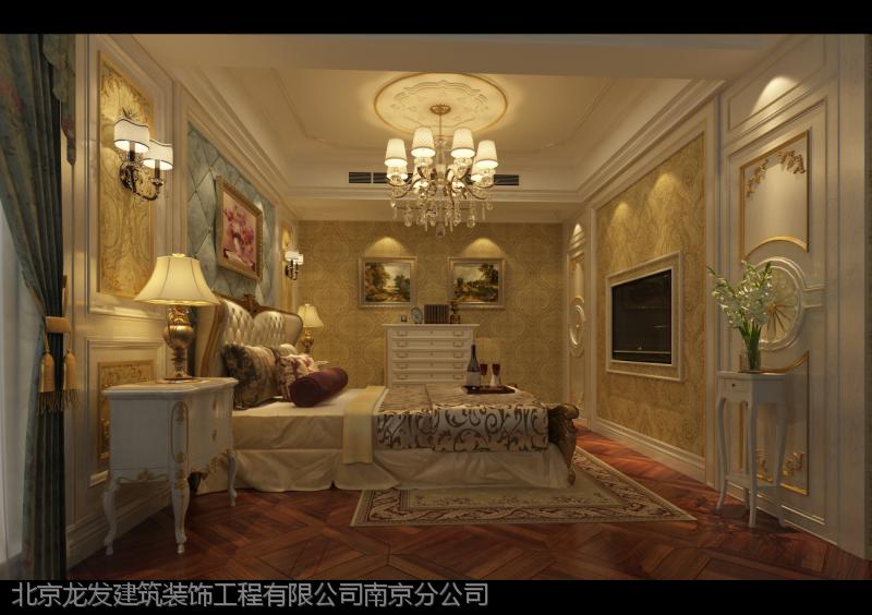 凤凰山庄760平方别墅装修设计|法式风格效果图凤栖湖别墅哈尔滨图片