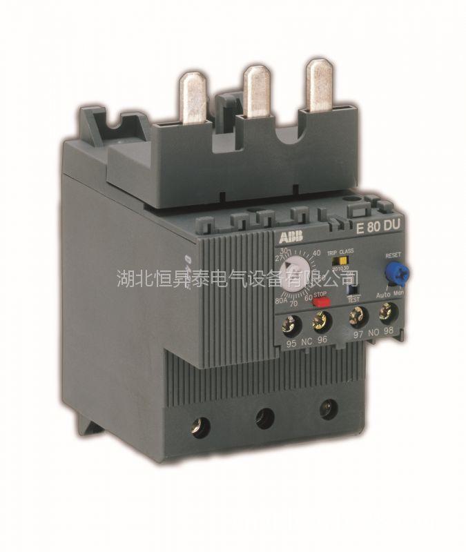 ABB电子过载继电器E 80 DU 80A