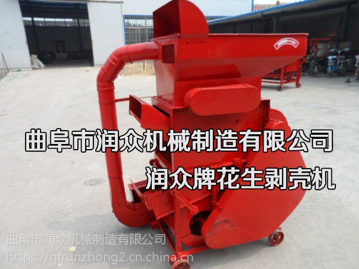 大小不匀花生自动剥壳机 二次回吸脱壳率高的机器 润众