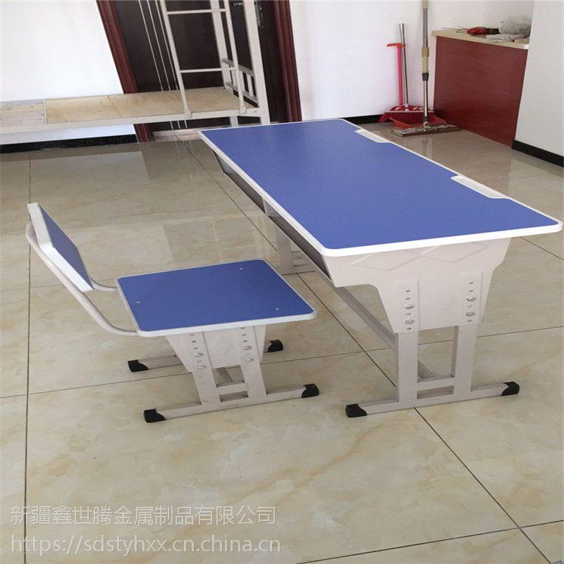 克拉玛依 学校学生课桌椅 板式儿童课桌椅 厂家直销