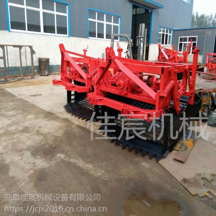 黄芪药材挖掘机 云南三七药材收获机厂家