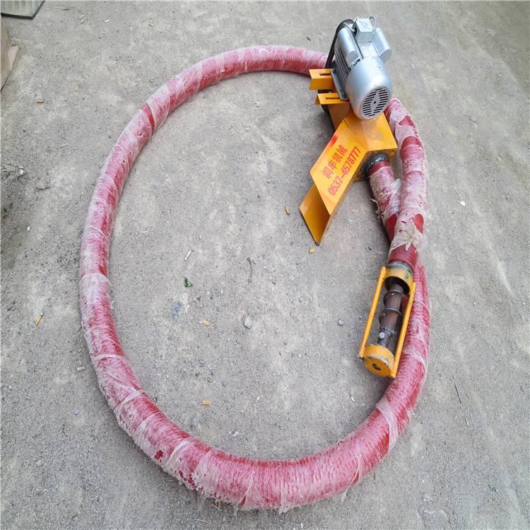 省人力省劲吸粮机 汽油带动抽粮机 软管耐用吸麦机