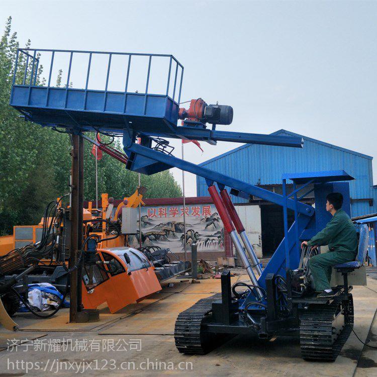 护坡锚固钻机 履带式岩石电钻 多功能地质钻机厂家直销