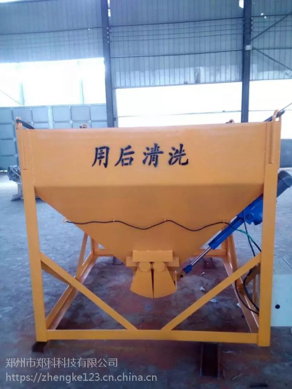 广西梧州郑科1000-2000型遥控自动卸料方形料斗高效省力