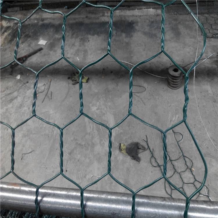 石笼网铅丝笼 定州拧花六角网厂家 pvc涂塑六角网价格
