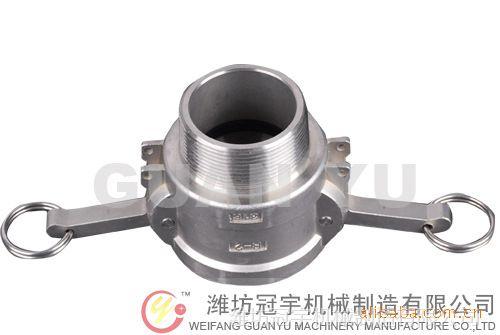 厂家现货供应不锈钢快速接头A、B、C、D、E、F、DC、DP型接头