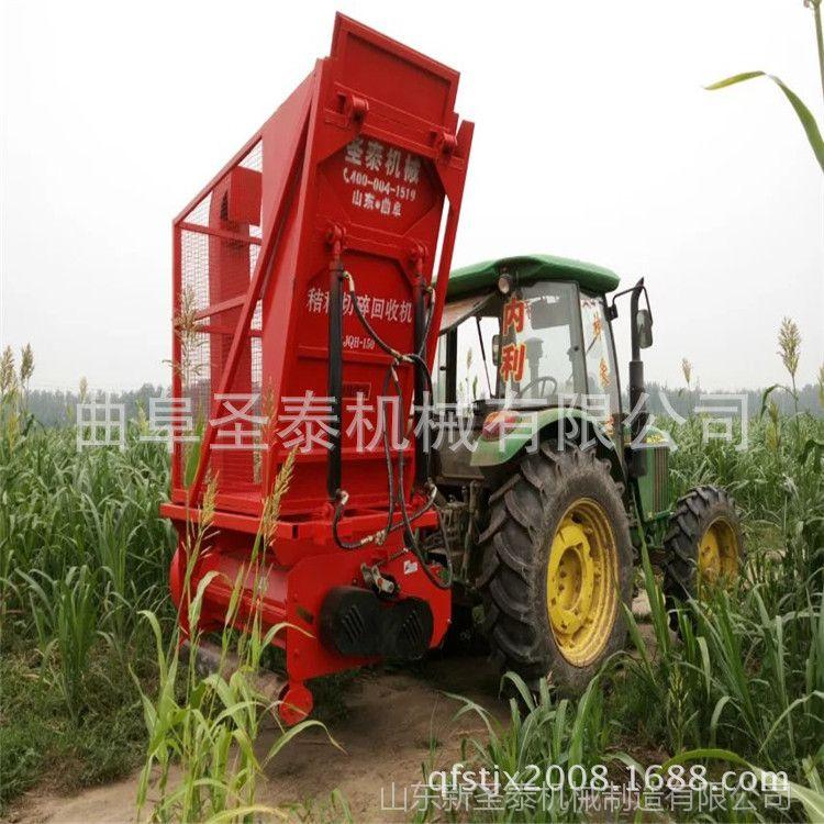 新型玉米秸秆收获机价格 小型玉米秸秆收获机 青储玉米秸秆收割机