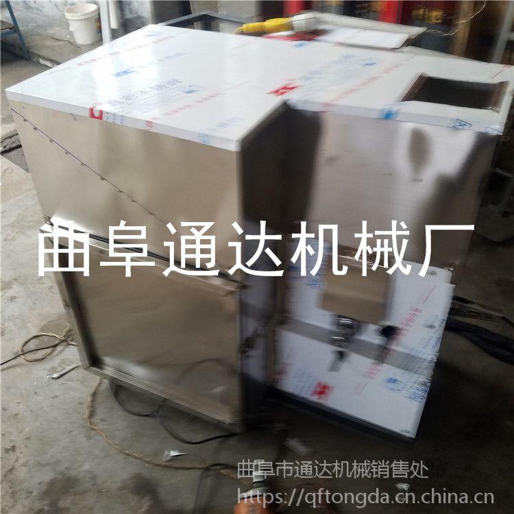 五谷麻花膨化机 空心棒机 通达直销 车载小型玉米膨化机