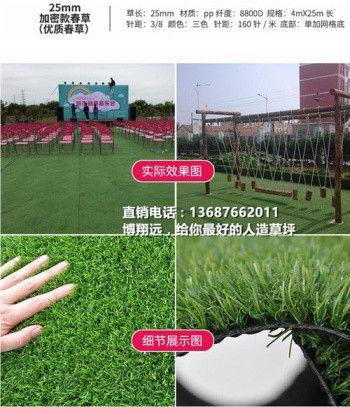 【经验谈如何买的值】 35mm人造草坪仿真草坪 无毒