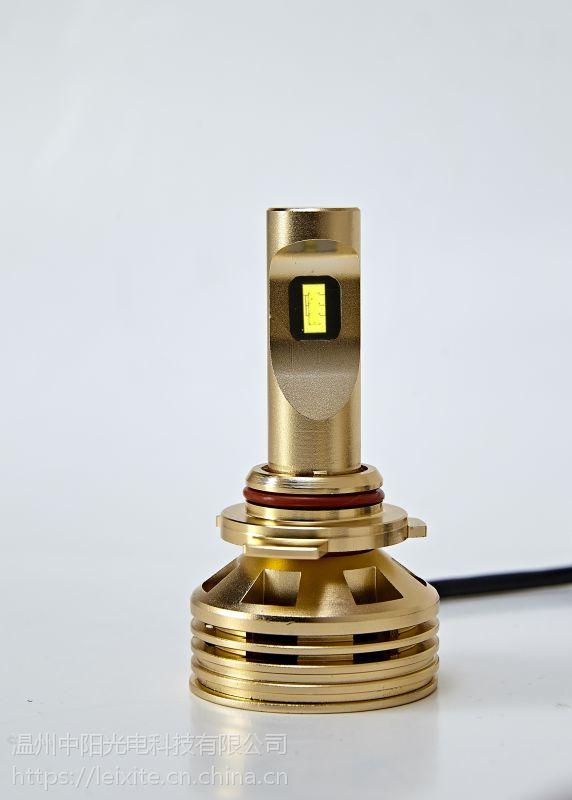 雷西特9006高亮度LED汽车灯泡:高亮、聚光、强散热、节能、无损安装