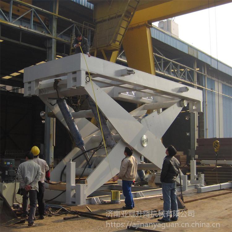 固定升降机电动升降货梯仓库厂房上下运输设备汽车货物提升机