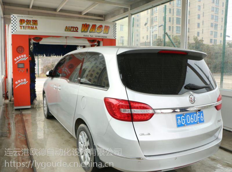 供应黑龙江省伊尔玛全自动五刷带风干洗车机