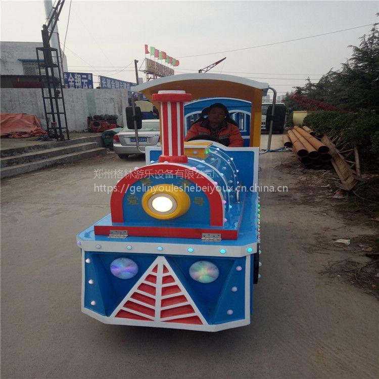 2017格林游乐新款商场儿童无轨小火车