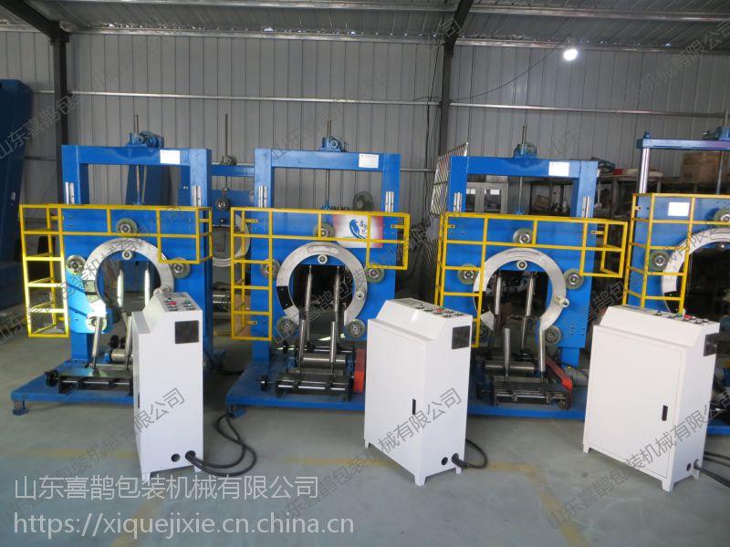 包装铁丝 胶管 专用设备 立式环体薄膜缠膜机