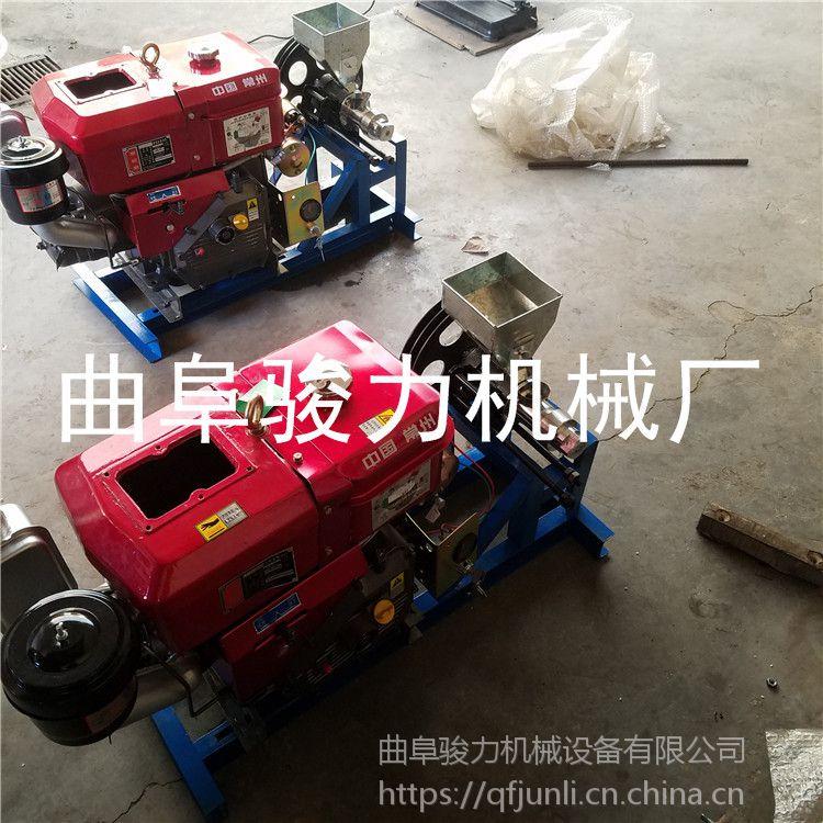 骏力生产 跑江湖专用杂粮膨化机 家用玉米花机 大米膨化机 包教技术